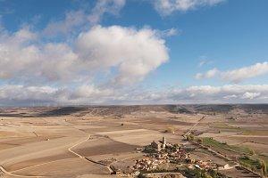 Countryside landscape in Burgos.