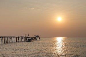 Sunset Beach Dock