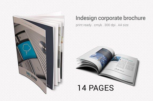 Corporate Brochure-Graphicriver中文最全的素材分享平台
