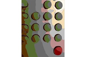 abstract art background filled with