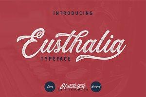 Eusthalia Typeface (INTRO SALE 40%)