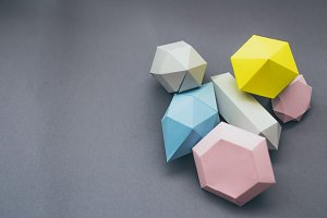 Paper craft gemstones