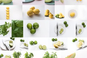 Light and Bright Food Photos