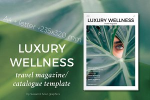 Luxury Wellness magazine/catalogue