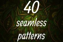 40 seamless patterns