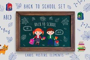 Back to school set