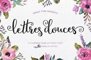 Lettres Douces Hand-Lettered Script