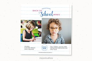 Back to school session template