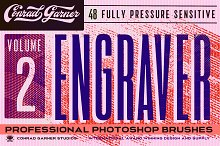ENGRAVER Brushes - PHOTOSHOP by  in Brushes