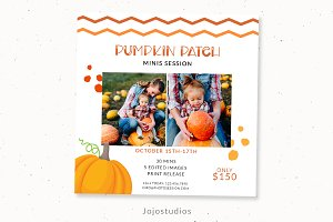 Pumpkin patch marketing