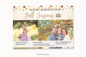 Fall Family Mini Session Template