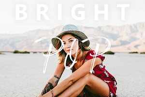 Bright Pop Lightroom Mobile Preset