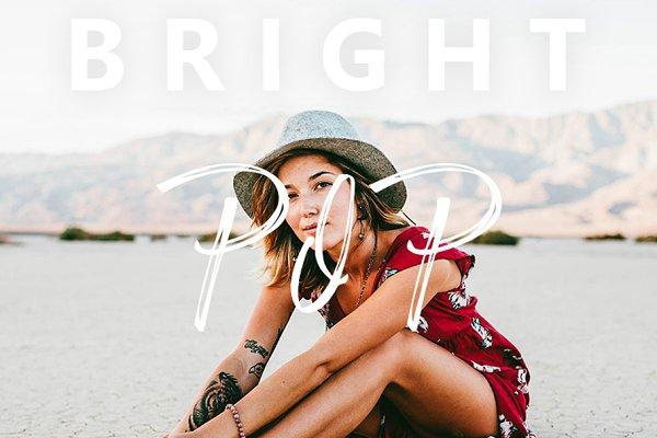 Bright Pop Lightroom Mobile Preset