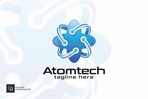 Atomtech - Logo Template