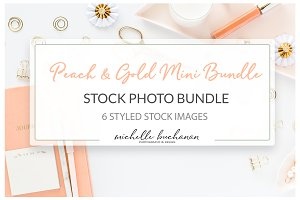 Peach & Gold Stock Mini Bundle