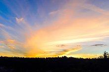 Dusk Cloud Background