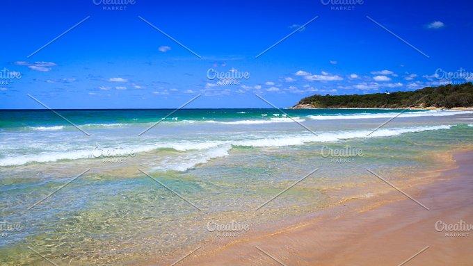 Beach at Stradbroke Island - Nature