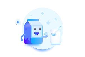 Milk Friendship