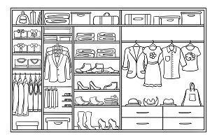 Sketch Family Wardrobe Concept