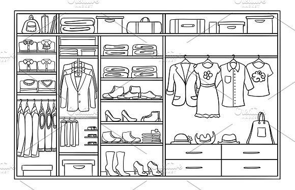 Sketch Family Wardrobe Concept