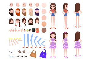 Character Constructor Set Vector