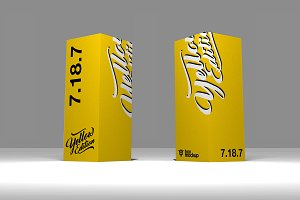 7.18.7 Simple 3D Box Mockup