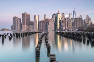 View on Lower East Manhattan