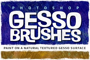Photoshop Gesso Brushes