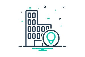 Business location Icon