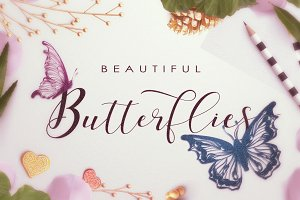 Beautiful Butterflies collection