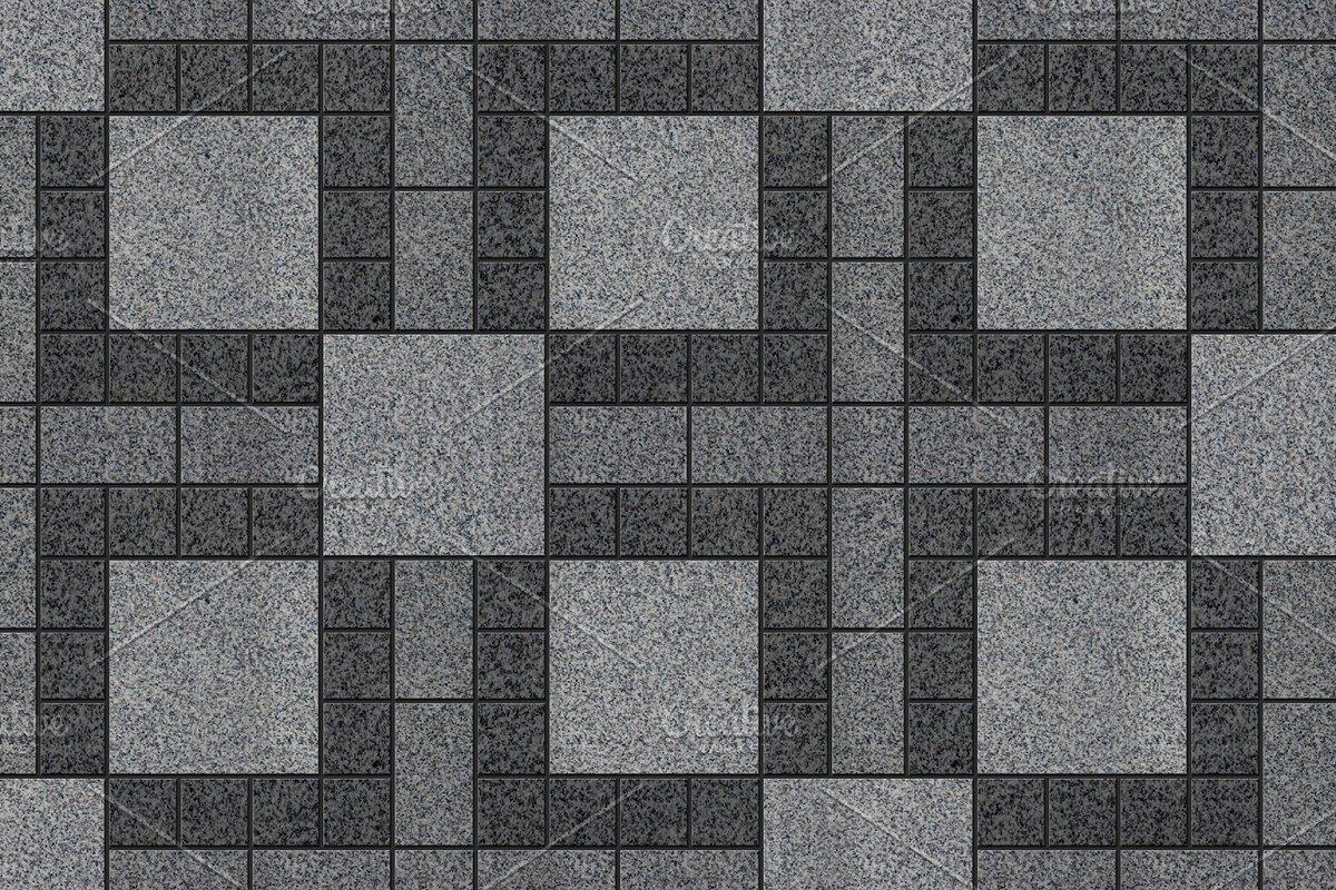 Paving tiles seamless texture | Custom-Designed Graphic Patterns ...