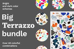 Terrazzo textures big bundle
