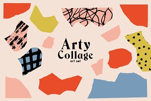 Arty Collage Art Set