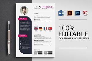 Job CV Resume Word
