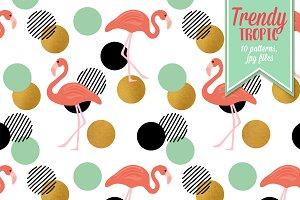 Trendy Tropic Patterns