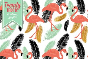Trendy Tropic Patterns
