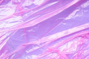 Pink purple plastic film background