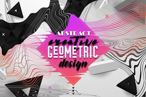 Abstract Creative Geometric design