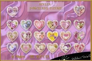 Styles Porcelaine Fleurie