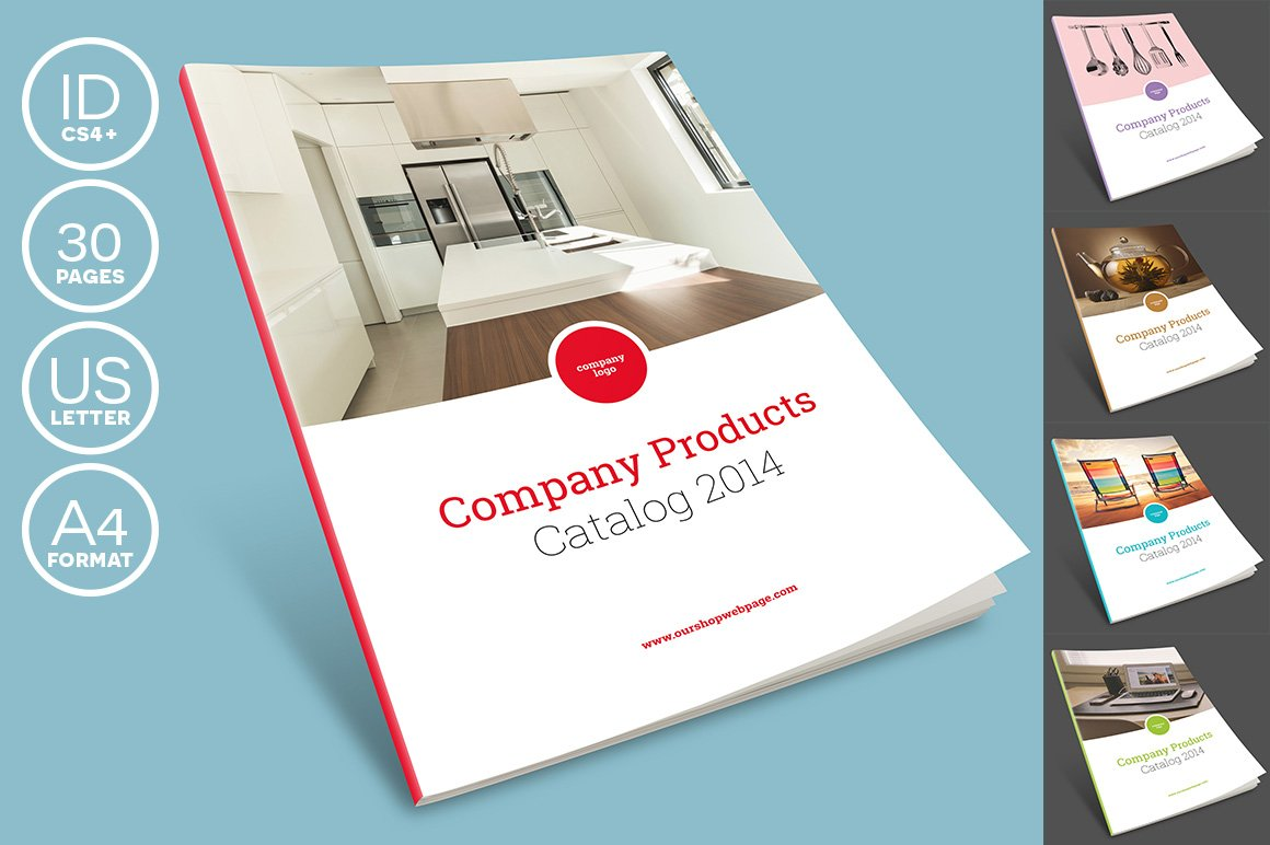 Brochure Flat Design