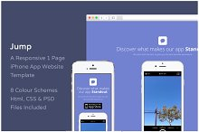 Jump - iPhone App Website Template