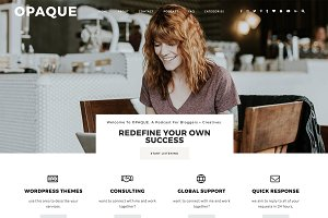 "WordPress Theme ""Opaque"""