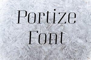 Portize Font
