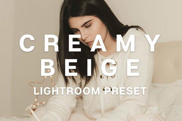 Creamy Beige Lightroom Mobile Prese…