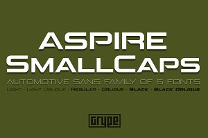 Aspire SmallCaps Family