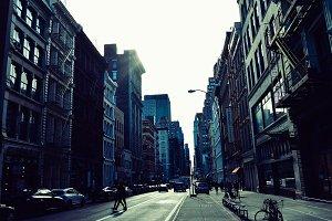 Street in Soho, NYC