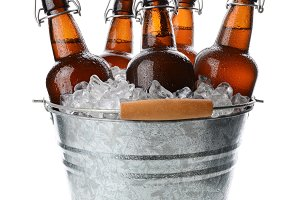 Party Bucket With Swing Top Beers
