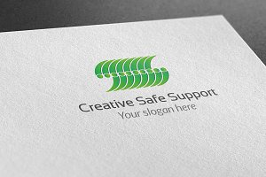 Creative Safe Support Logo