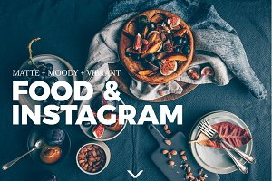 Food & Instagram Lightroom Presets