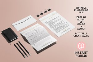 Event Planner Contract & Forms IF269